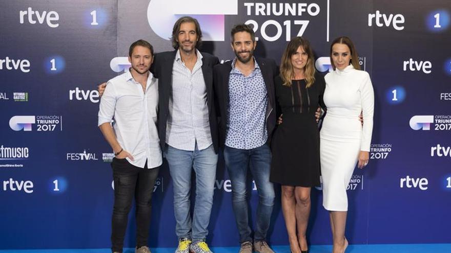 """""""Operación Triunfo"""" aspira a reeditar en TVE el éxito logrado hace 16 años"""