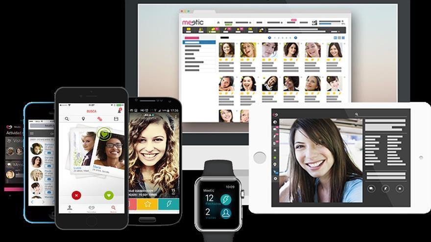 """Meetic, la autodefinida como """"mejor red social de solteros"""""""