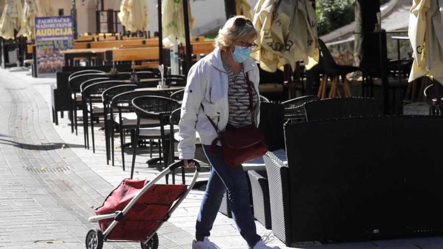 Croacia registra otro récord de contagios de covid-19