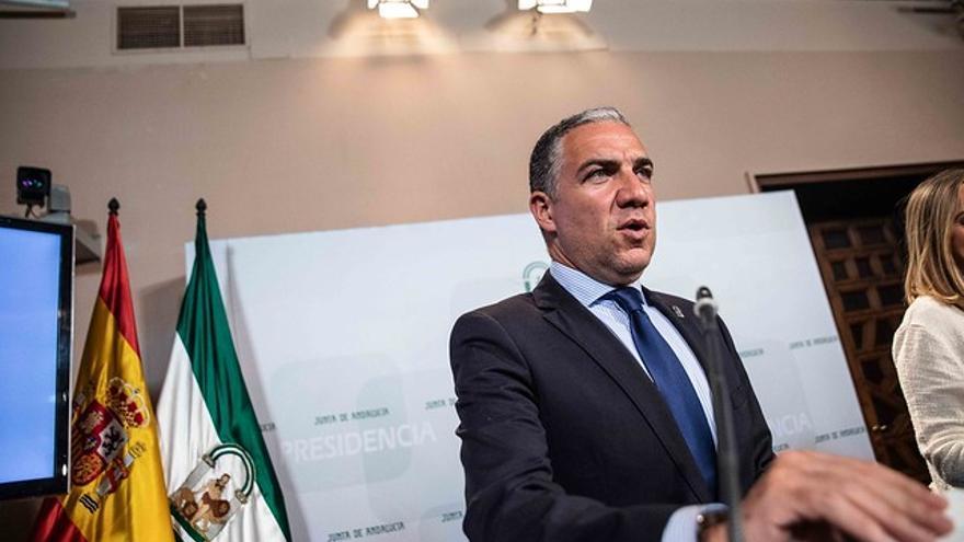 El consejero de la Presidencia, Elías Bendodo.