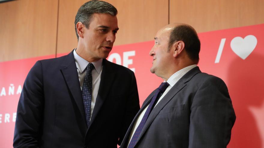 """Ortuzar espera que la reunión PSOE-Podemos """"marque un punto de inflexión"""" porque, si no, """"lo que vendría sería peor"""""""