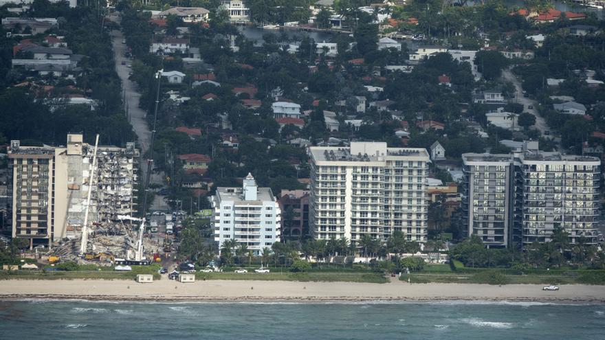 Sube a nueve el número de fallecidos en derrumbe de edifcio en Miami-Dade