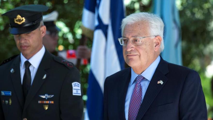 El embajador de EEUU dice que Israel solo ocupa un 2% de Cisjordania