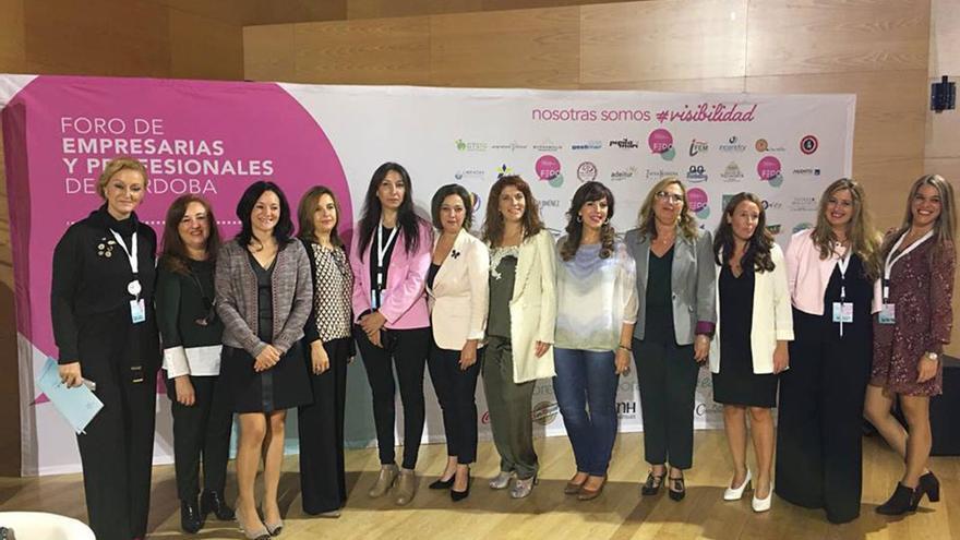 Inauguración de la edición del Foro de Empresarias y Profesionales en 2017.