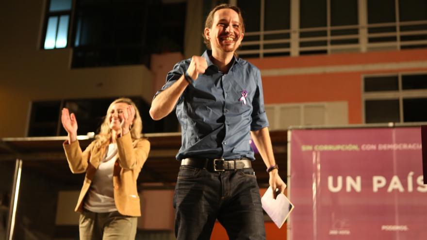 Pablo Iglesias en Gran Canaria (ALEJANDRO RAMOS)