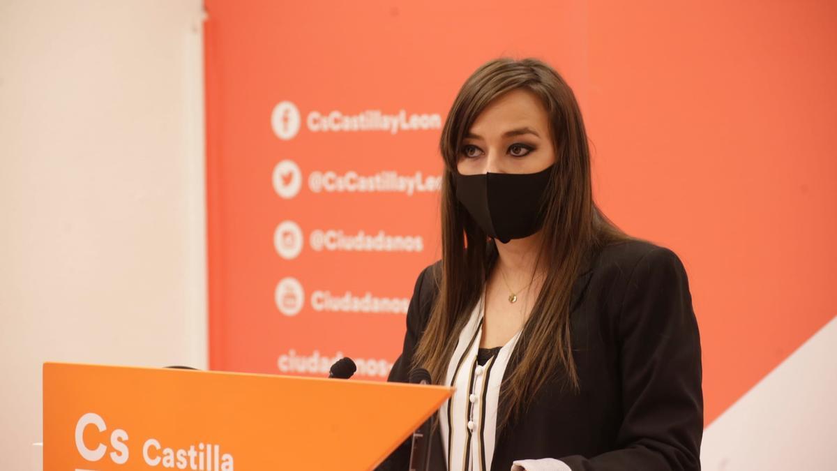 La coordinadora autonómica de Cs, Gemma Villarroel.