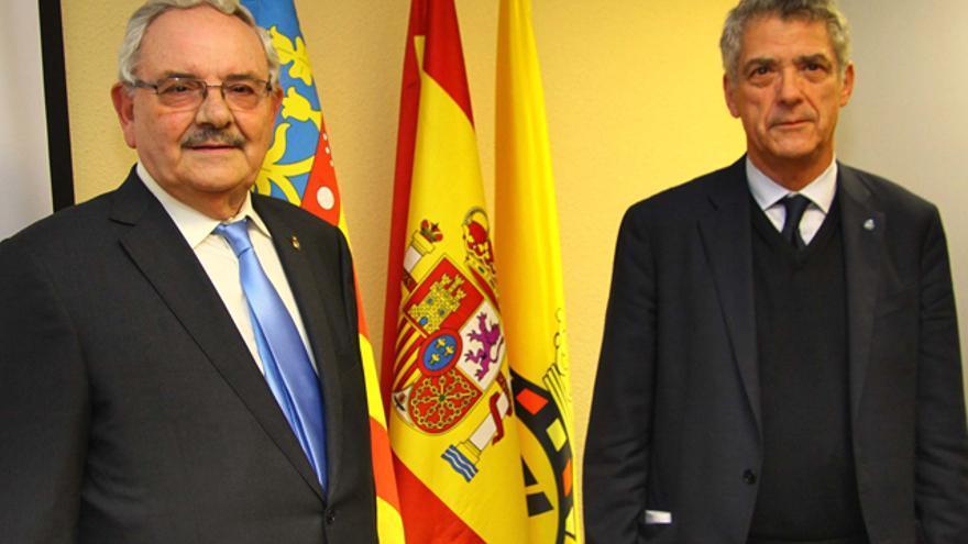 Vicente Muñoz y Angel María Villar, ambos imputados en la Operación 'Soule'