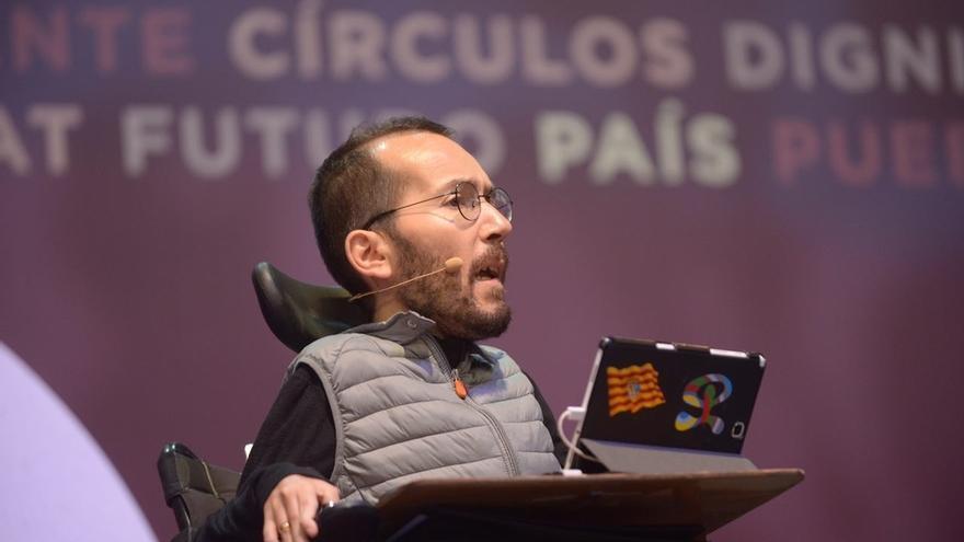 La dirección estatal de Podemos acude a la asamblea de los 'comuns' de la que su organización catalana se ha desmarcado