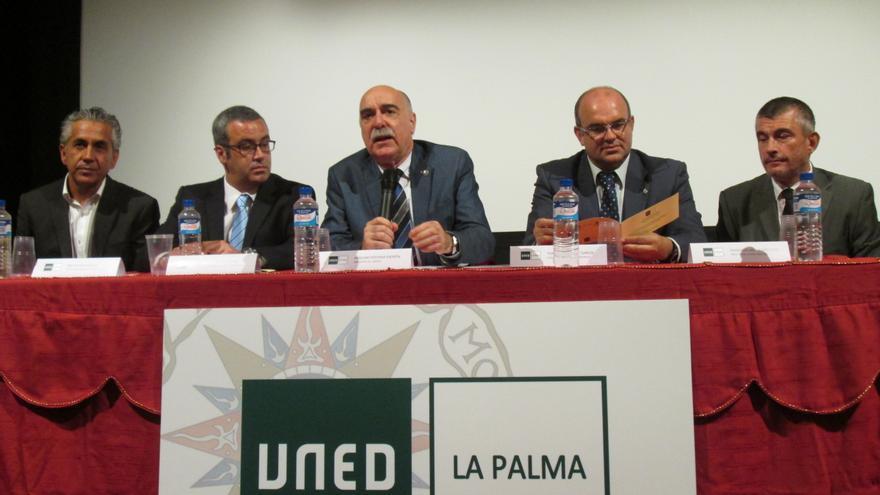 En la imagen, acto inaugural del curso académico 2014-2015 de la Uned. Foto: LUZ RODRÍGUEZ