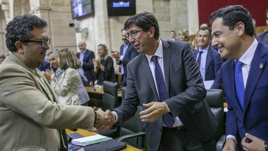 """Marín agradece a Vox la retirada de la enmienda a los presupuestos: """"Andalucía necesitaba este mensaje de estabilidad"""""""
