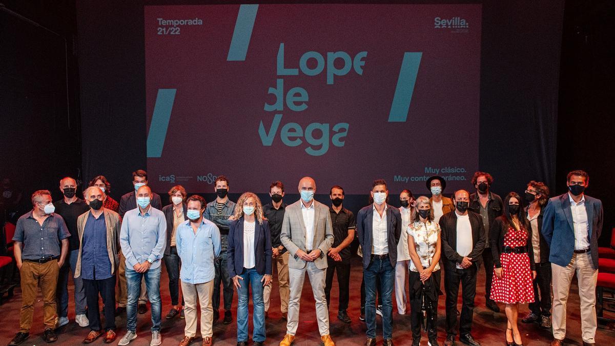 Presentación de la nueva temporada del Teatro Lope de Vega