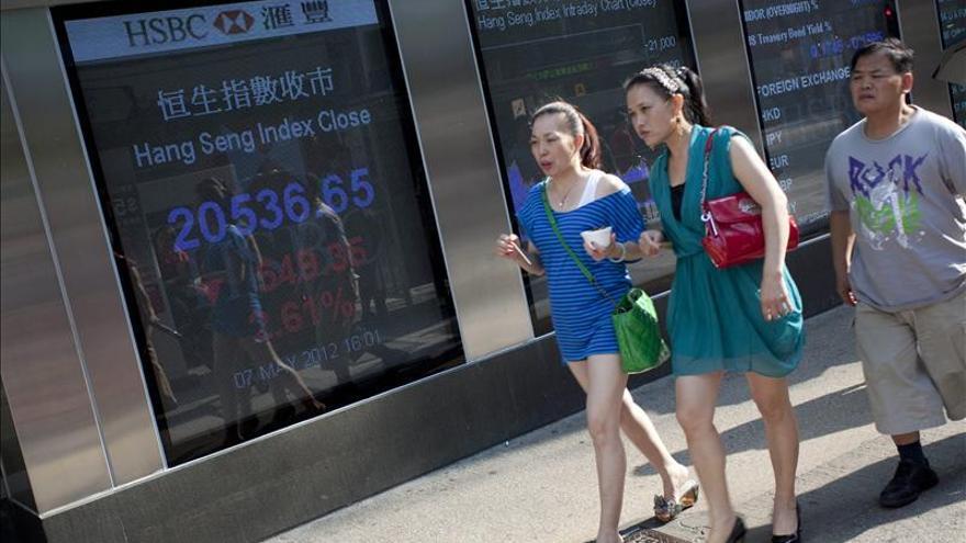 El Hang Seng cierra con una subida del 0,99 por ciento