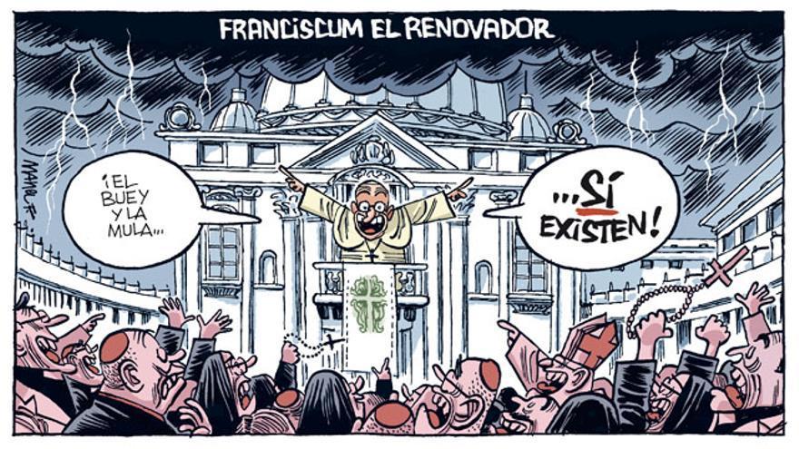 Franciscum el renovador