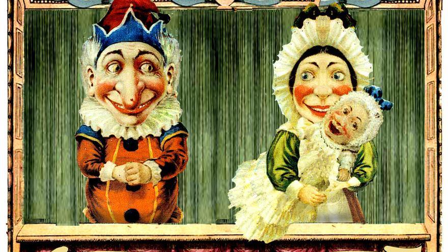 Punch y Judy, los títeres de cachiporra británicos