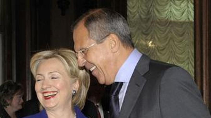 Clinton y Lavrov