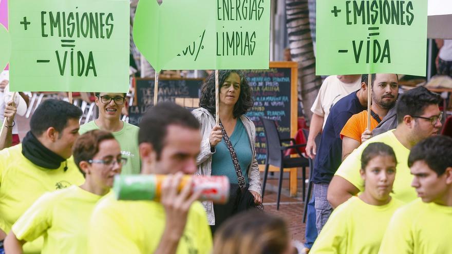 Marchas en la capital grancanaria para frenar el cambio climático