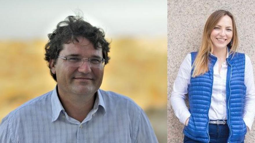Los divulgadores José Miguel Mulet y Lucía Galán