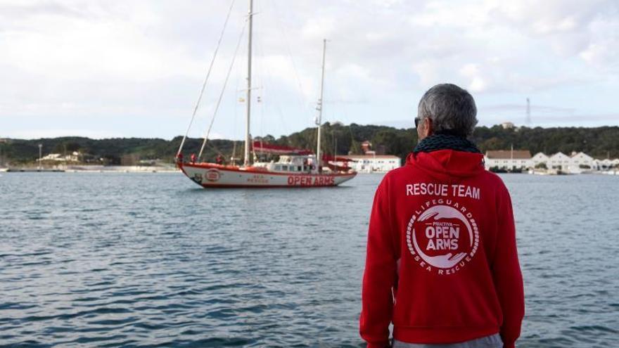 La ONG Open Arms vuelve al Mediterráneo central
