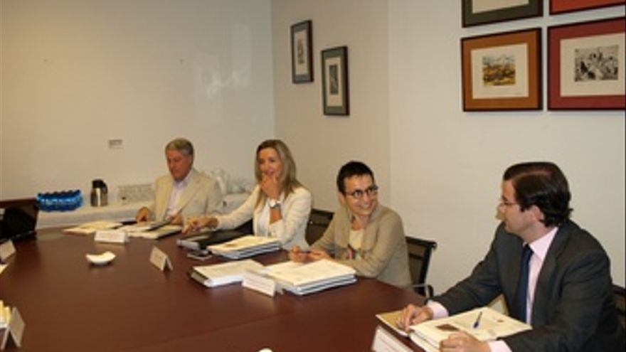 Reunión Del Patronato En La Sede Del CDMH De Salamanca