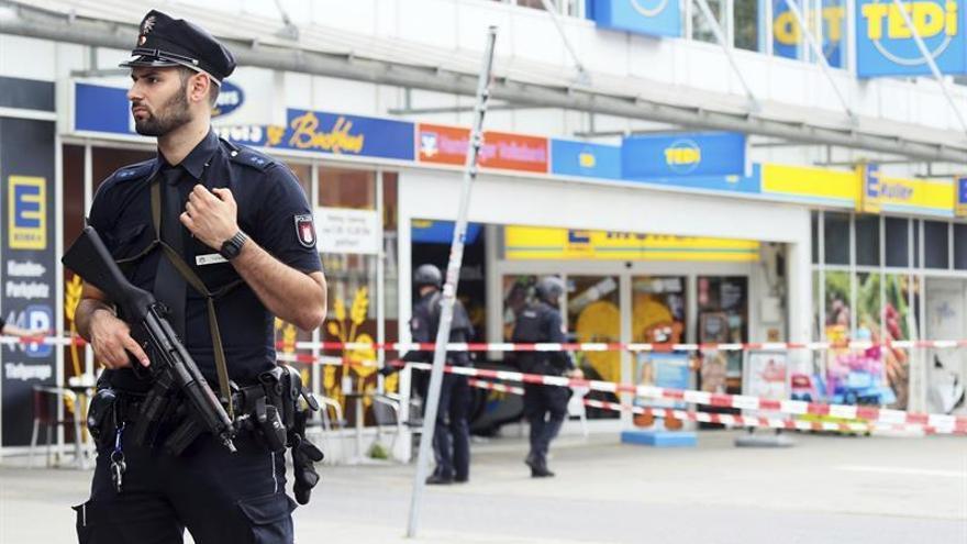 Un ataque a cuchilladas presuntamente yihadista desata la alarma en Hamburgo