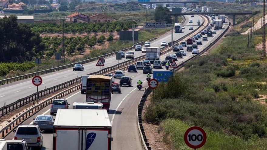 Ocho personas fallecidas este fin de semana en accidentes de tráfico