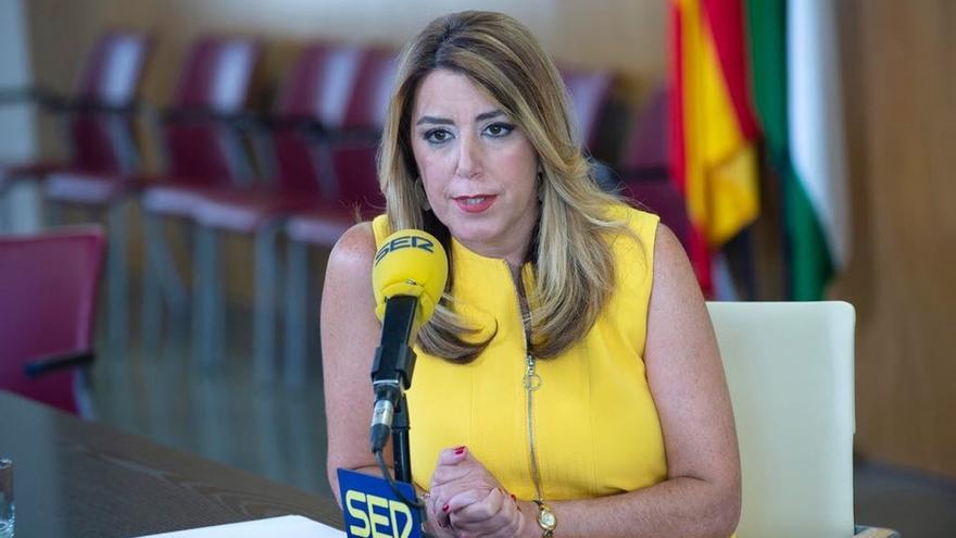 """Susana Díaz ve """"deplorable"""" el caso de las tarjetas de la Faffe, exige que se aclare """"y el que lo haya hecho, lo pague"""""""