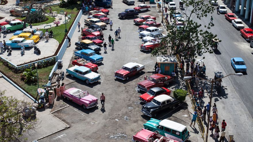 Coches cubanos, casting norteamericano
