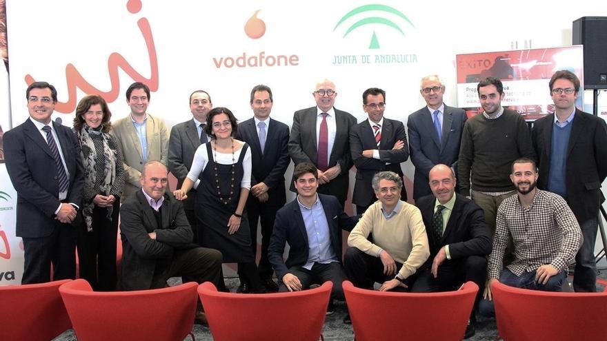 Junta y Vodafone lanzan la quinta convocatoria del Programa Minerva para proyectos tecnológicos