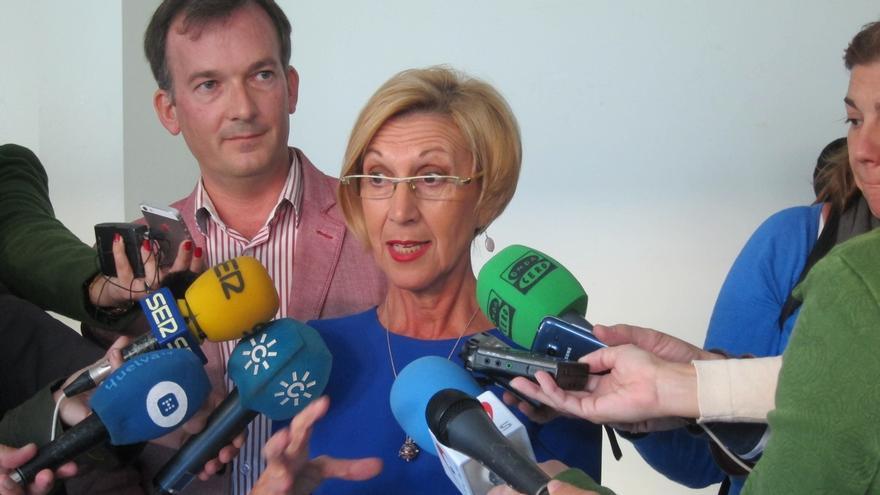 """Rosa Díez propone cambiar """"de forma exprés"""" los artículos que consagran el aforamiento de diputados y senadores"""