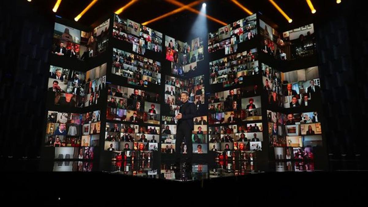 Imagen de los Premios Goya 2021 en TVE