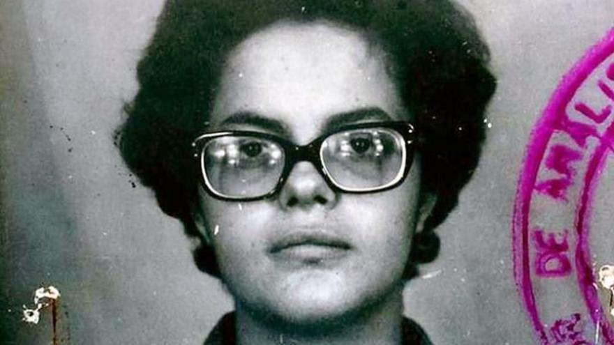 Dilma Rousseff en su época de militante.