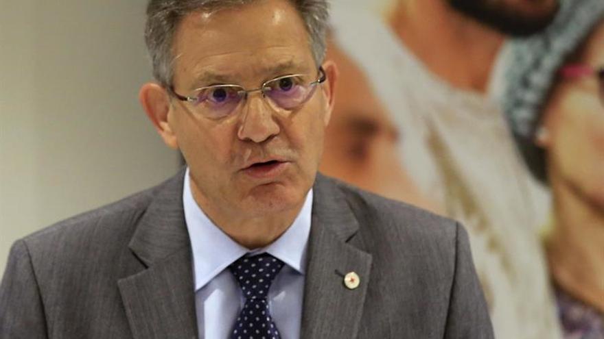 El presidente de Cruz Roja, Javier Senent