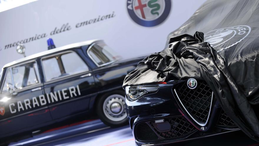 Los Carabinieri utilizarán el Alfa Romeo Giulia para asistencia sanitaria urgente.