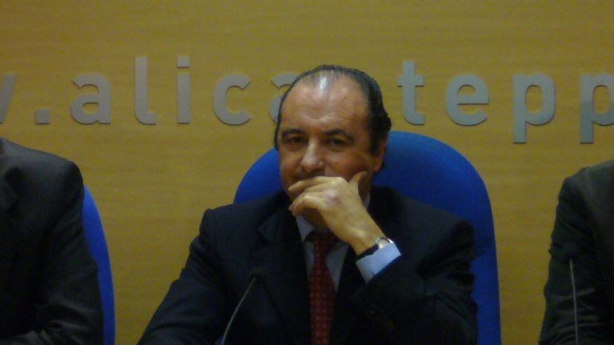 José Joaquín Ripoll será cesado como presidente de la Autoridad Portuaria de Alicante