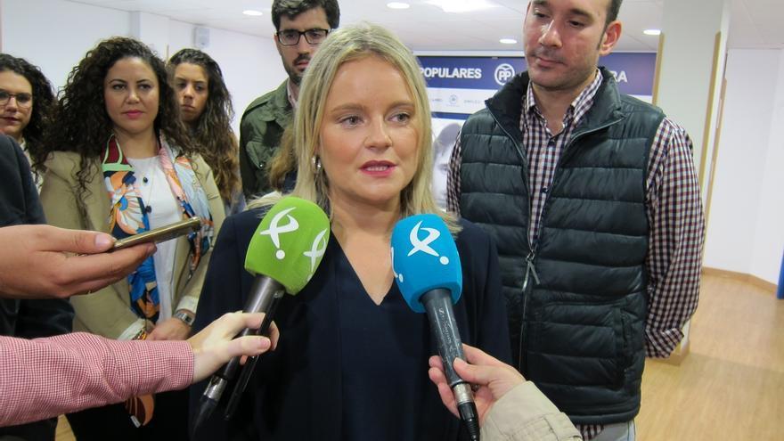 María del Mar Blanco apoya la concesión de la Medalla de Extremadura a las 56 víctimas extremeñas de ETA