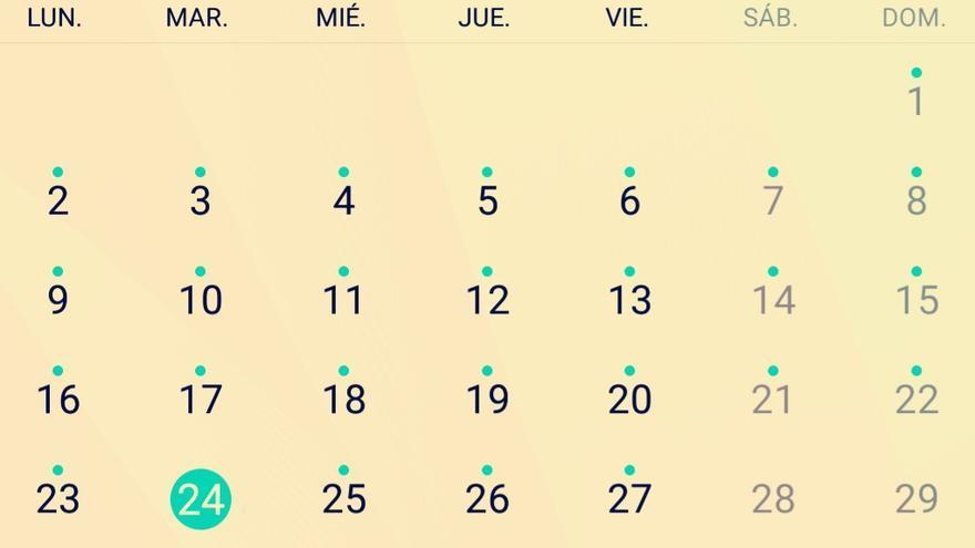 Seis de once (martes)