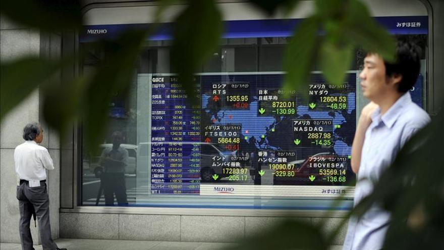 El Nikkei cae un 0,47 por ciento hasta los 17.409,32 puntos