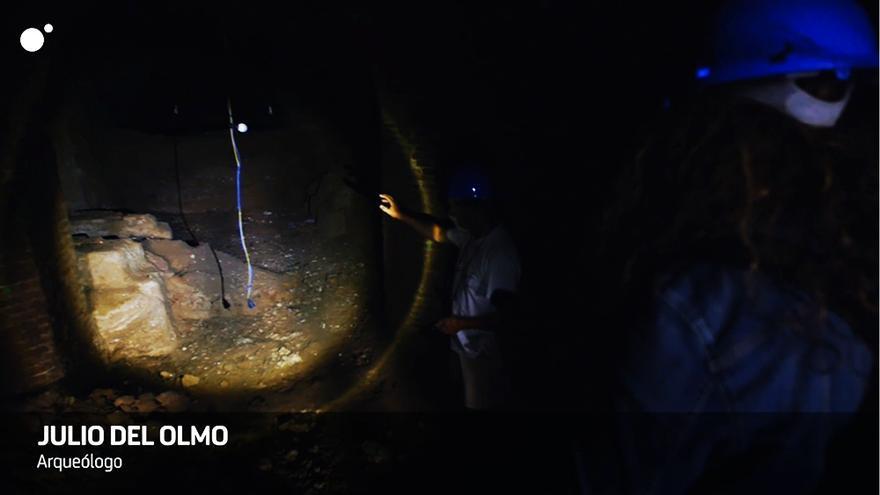 Fotograma del reportaje de 'Cuarto Milenio' sobre la bodega-fosa