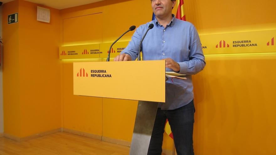 """ERC ignoraba una oferta del Gobierno por el 9N pero no le sorprende: """"Está contra las cuerdas"""""""