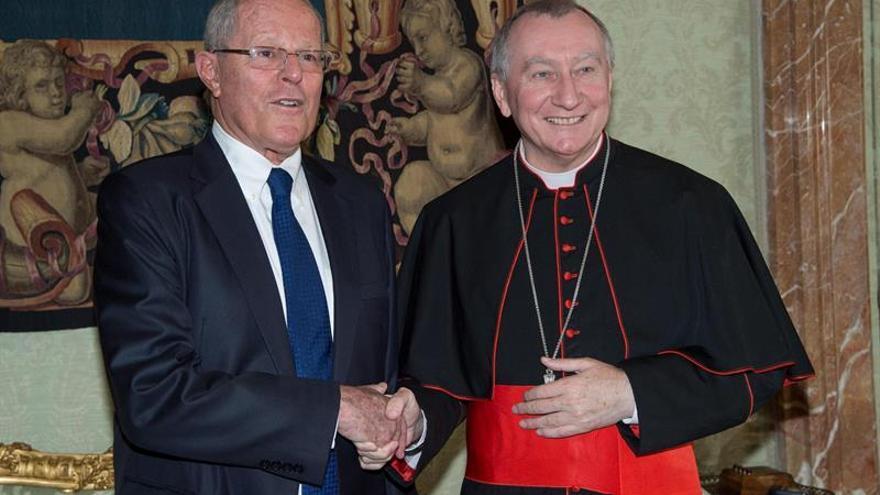 El papa recibió al presidente peruano, Pablo Kuczynski, durante 26 minutos