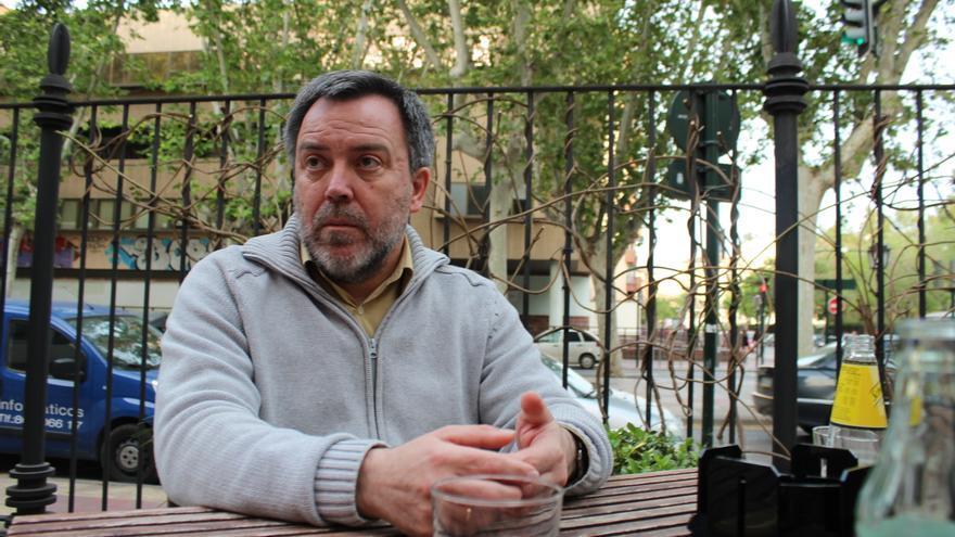 Nacho Tornel, número uno de la lista de Cambiemos Murcia en las elecciones municipales / PSS