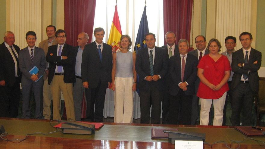 Formación de la Organización Interprofesional del Vino / Foto: Ministerio de Agricultura