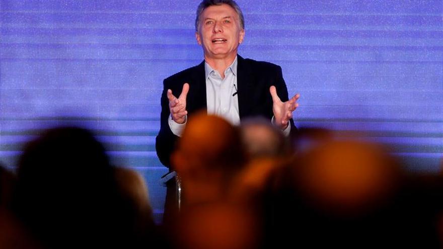 """Macri dice que el """"crecimiento"""" no llegó a todos en Argentina pero pide confianza"""