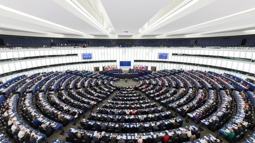 Hemiciclo Parlamento Europeo Estrasburgo