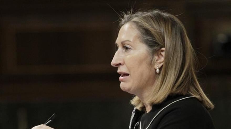 Ana Pastor anuncia que las plazas aéreas reservadas para invierno subirán un 2,8 por ciento