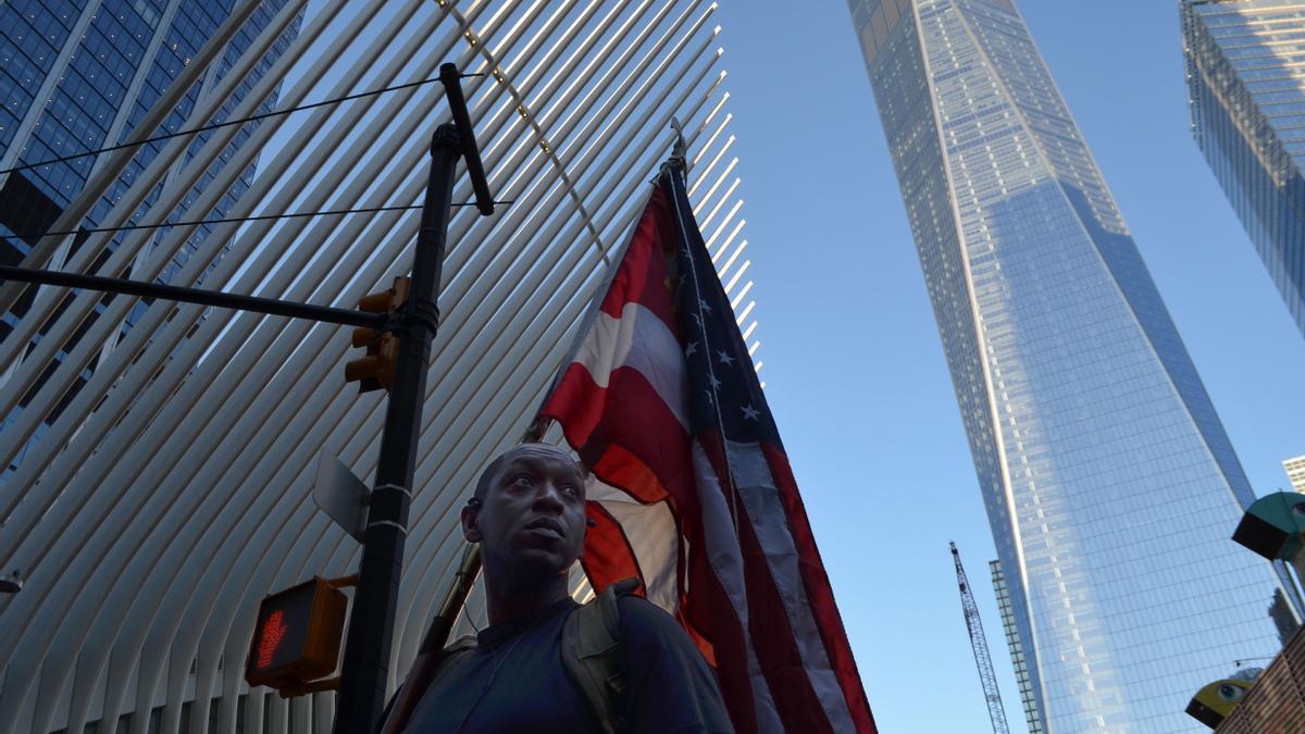 El homenaje a las víctimas del 11-S en su vigésimo aniversario.