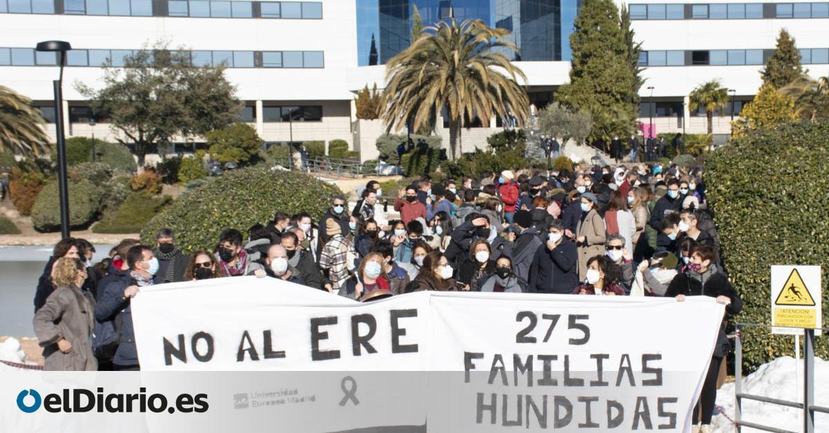 La Universidad Europea de Madrid prepara el primer ERE en la historia para profesores universitarios