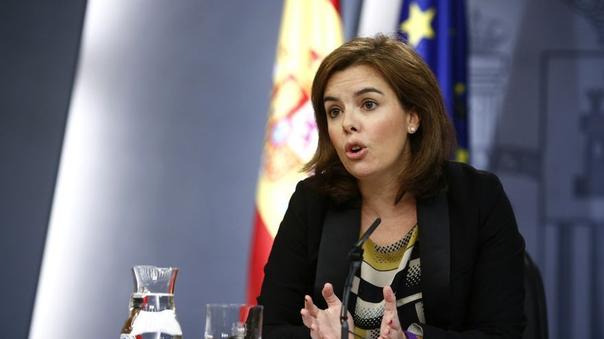 """Sáenz de Santamaría no valora las declaraciones de Bárcenas y dice que """"no son nuevas"""""""
