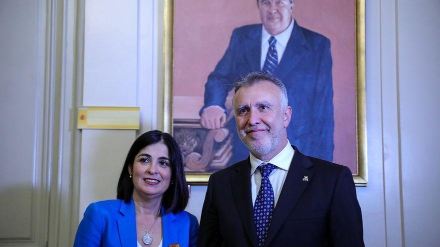 Torres dice que con la designación de Darias como ministra de Sanidad se reafirma  el peso de Canarias en el Gobierno central
