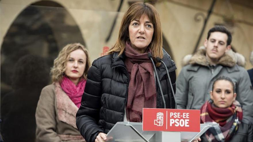 """Mendia reclama que el PSOE elija un """"líder y un equipo sólido"""" en primavera"""